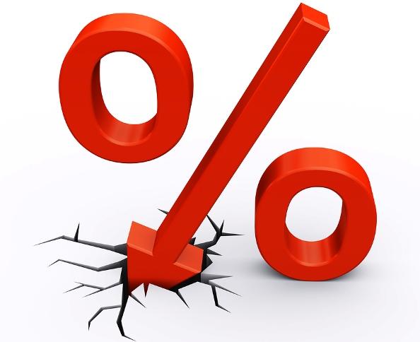 taxas de juro mais baixas